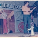 Ben at Shelburne Fiddle Convention 1973