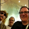 ben with david lindley and leon redbone