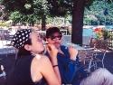 Ben & kd in Italy 1992