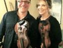 Ben & Alison Krauss twin fiddlers