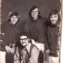 Ben (far left) with Irish band 1971