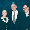 Ben with Bill and Hillary