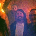 Ben w/ David Grohl at Hall of Fame aftershow