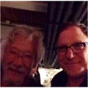 Ben and David Suzuki at Blue Dot aftershow 2014