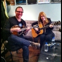 Ben and Nancy Wilson rehearsing Dreamboat Annie, Toronto Music West