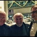 Ben w/Bernie Finkelstein & Bruce Cockburn, Socan Awards Gala 2013